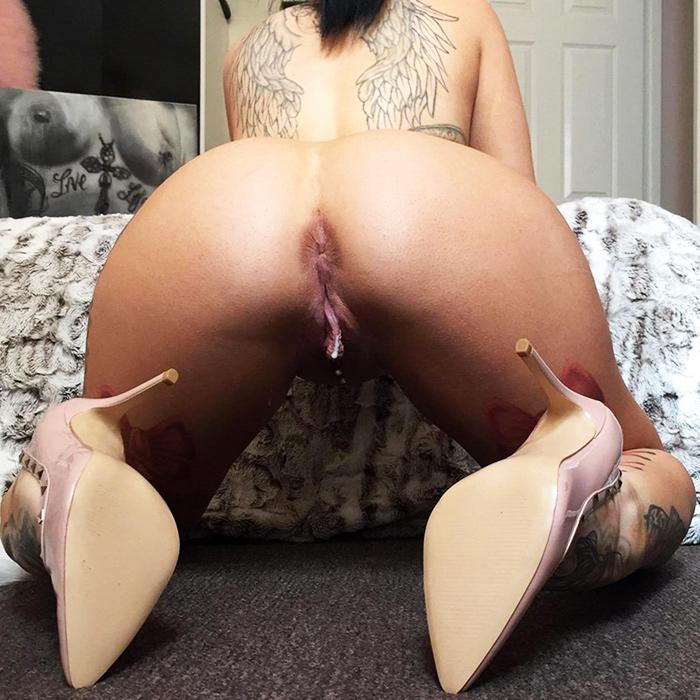 Pussy juice dildo