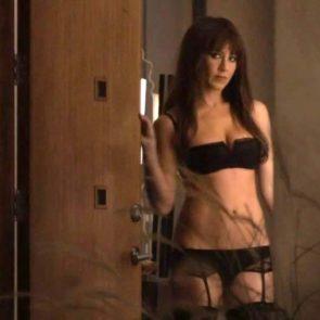 Jennifer Aniston in sexy lingerie