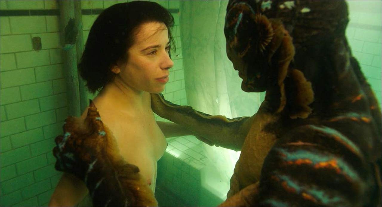 Shape of water wife nude