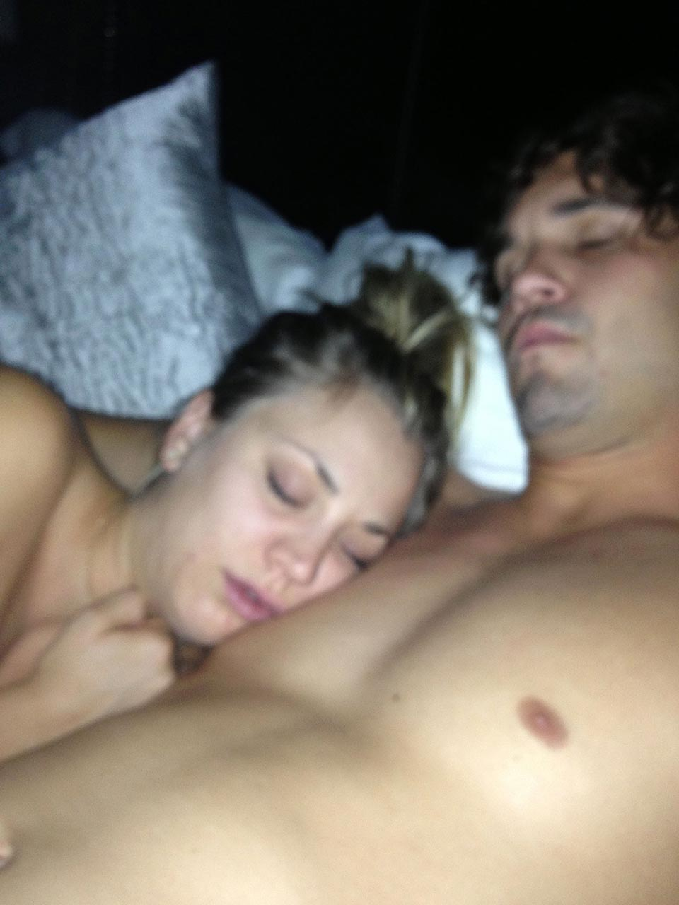 Think, Kaley cuoco naked video