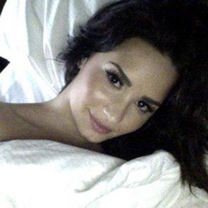 06-Demi-Lovato-Nip-Slip-Bed-Selfie