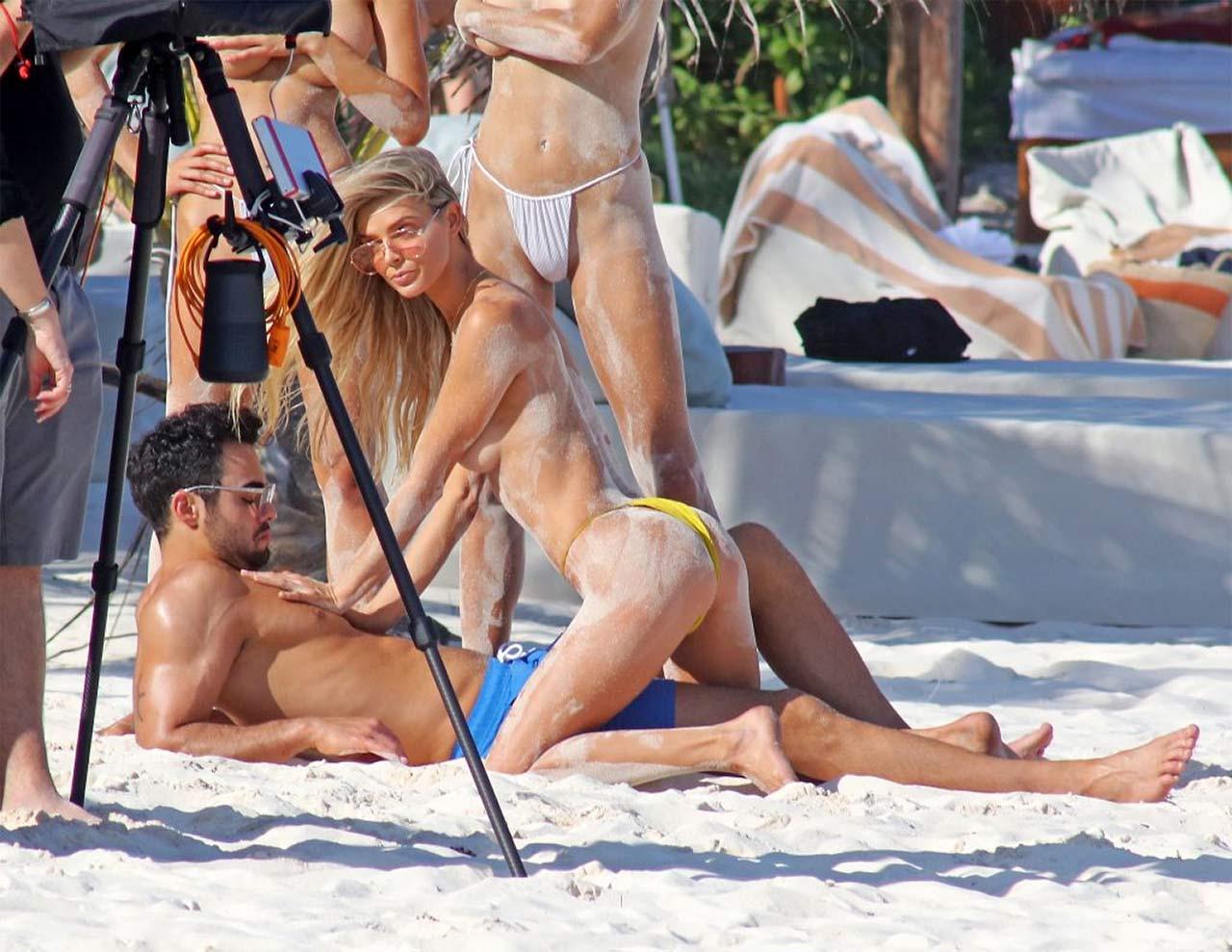Sandy danielle knudson nude tits on the set milos raonics girlfriend is sexy nudes (63 photo)