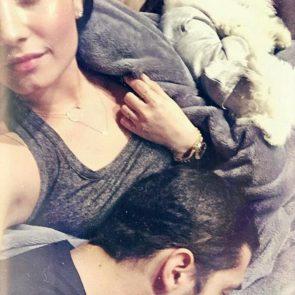 10-Demi-Lovato-Nip-Slip-Bed-Selfie