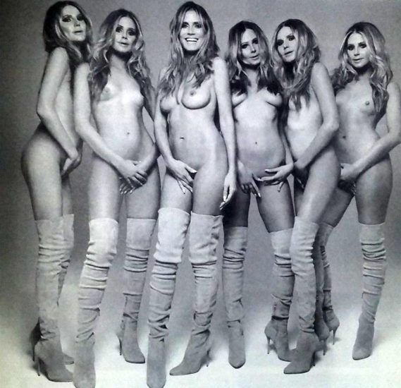 Heidi Klum Nude and Topless LEAKED Pictures 49