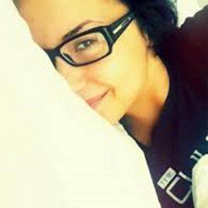 19-Demi-Lovato-Nip-Slip-Bed-Selfie