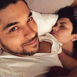 20-Demi-Lovato-Nip-Slip-Bed-Selfie