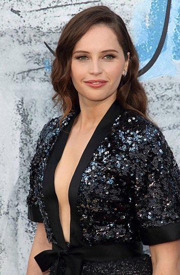 Felicity Jones cleavage