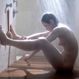 Louisa Krause Nude Showering Scene From 'Toe to Toe'