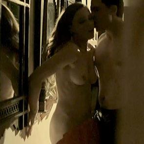 Melissa George Nude Sex Scene In Hunted Series