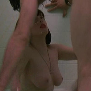 Rose McGowan Nude Busty Boobs In Doom Generation Movie