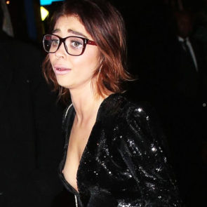 Consider, sarah hyland slip interesting. Tell