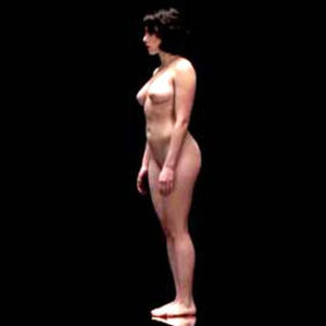 Scarlett Johansson  Nude Bush & Tits In 'Under the Skin' Movie