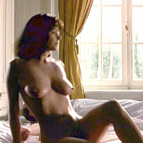 Polly Walker Nude Scene In Eight and a Half Women Movie