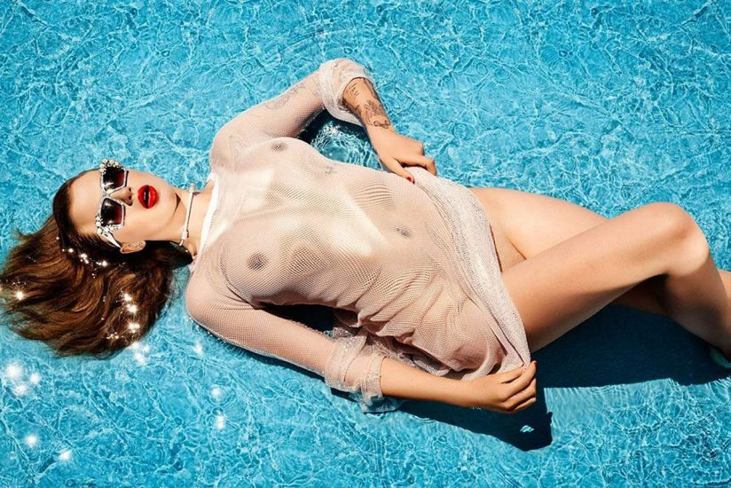 Ireland Baldwin Nude & Topless Pics And Porn Video 12