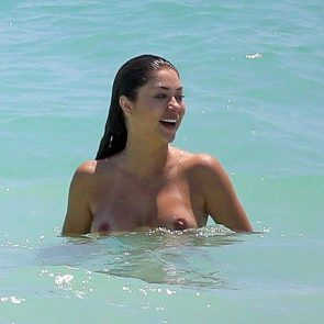 Arianny Celeste naked in the sea