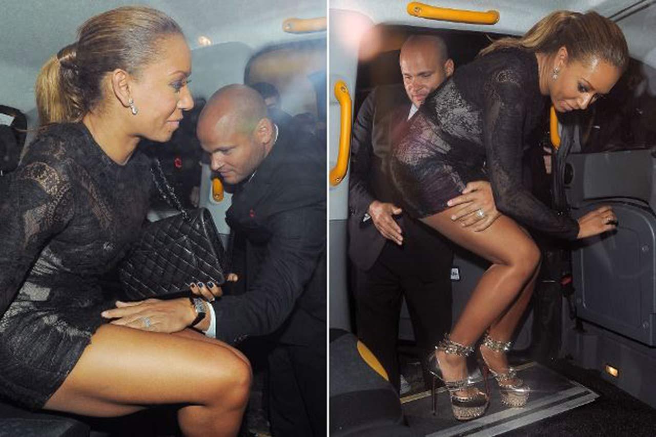Oops! Spice Girl Mel B Nip Slip & Upskirt Photos - Scandal ...