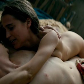 Alicia Vikander Nude Scene In Tulip Fever Movie