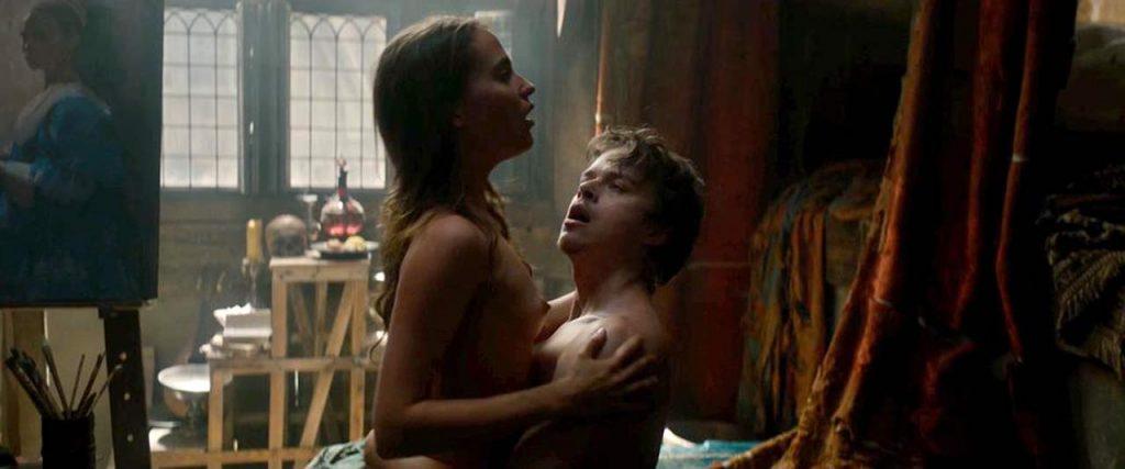 Alicia Vikander naked sex scene