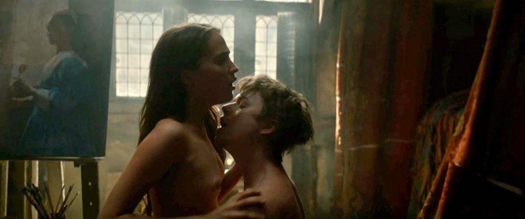 Alicia Vikander nude sex scene
