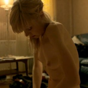 Antonia Campbell-Hughes Nude Sex Scene In Kelly + Victor Movie