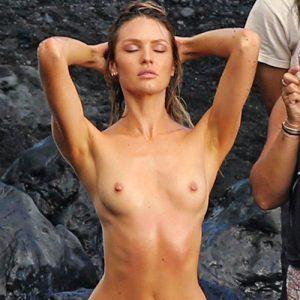 Candice Swanepoel Naked On Paparazzi Photos