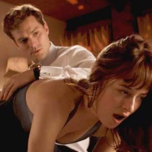 Dakota Johnson Nude Butt Slapping Scene From 'Fifty Shades of Grey'