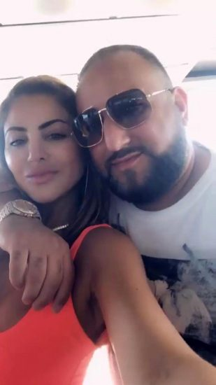 Larsa Pippen with male friend