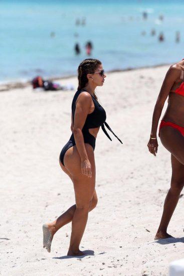 Larsa Pippen butt in bikini