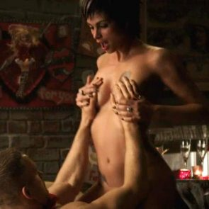 Morena baccarin death in love topless