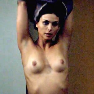Morena Baccarin Nude Tits & Making Out In 'Homeland' Series