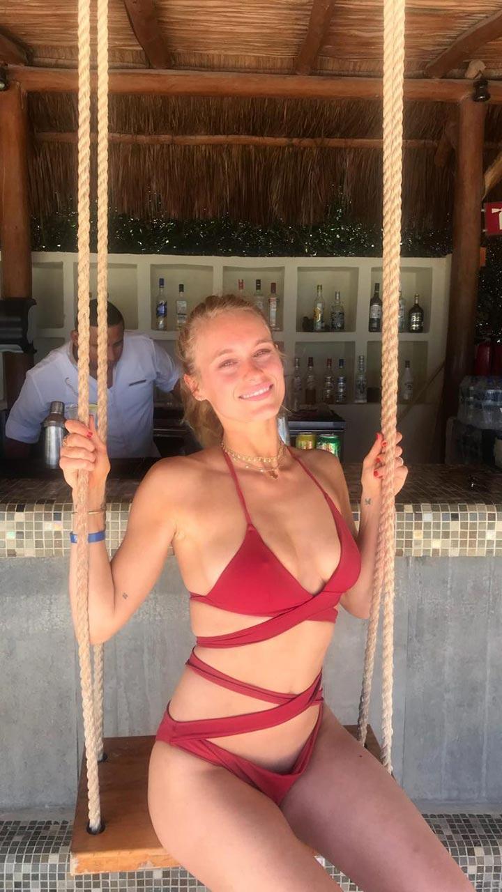 Leven Rambin Bikini Photos From Her Romantic Holiday