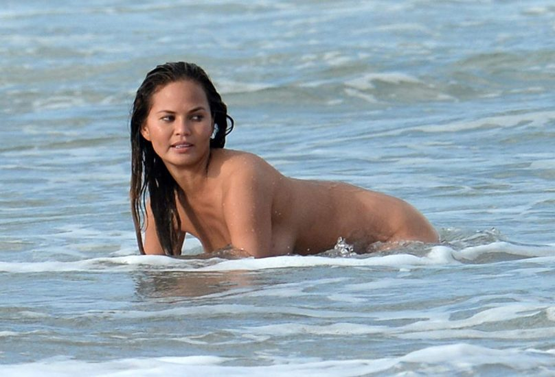 Chrissy Teigen Nude & Topless ULTIMATE Collection 4