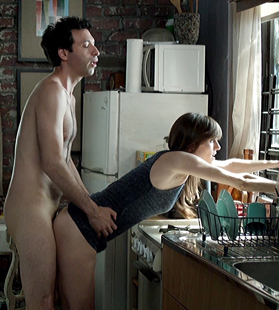 Allison Williams Porn allison williams sex in the kitchen from girls series - free