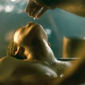 Dianne Doan Naked Tits While Cumming In 'Vikings' Series
