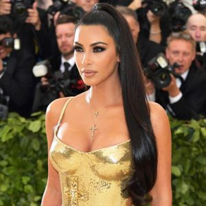 Kim Kardashian Showed Her Cleavage At Met Gala 2018