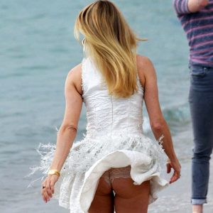 Actress Chloe Sevigny Flashes Her Ass in Cannes