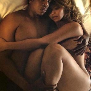 Beyonce nude with jay z