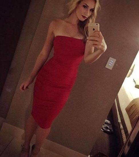 Paige Spiranac sexy tits