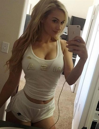 Paige Spiranac leaked boobs