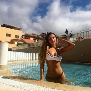 Zara McDermott stomach leaked