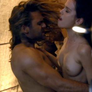 Gwendoline Taylor Nude Sex Scene In Spartacus Series