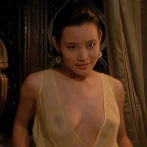 Joan Chen Juicy Nipples In Tai-Pan Movie
