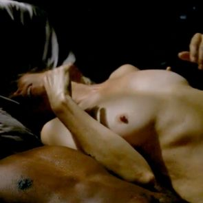 Kim Dickens Topless In Treme Series