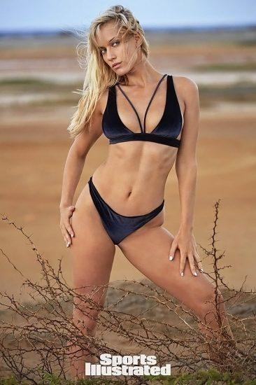 Paige Spiranac nude stomach