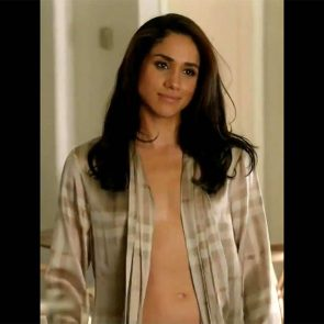 Meghan Markle topless in suits