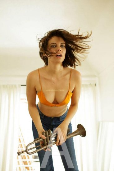 Lauren Cohan Nude, LEAKED Sex Tape PORN Video & Topless Scenes 2