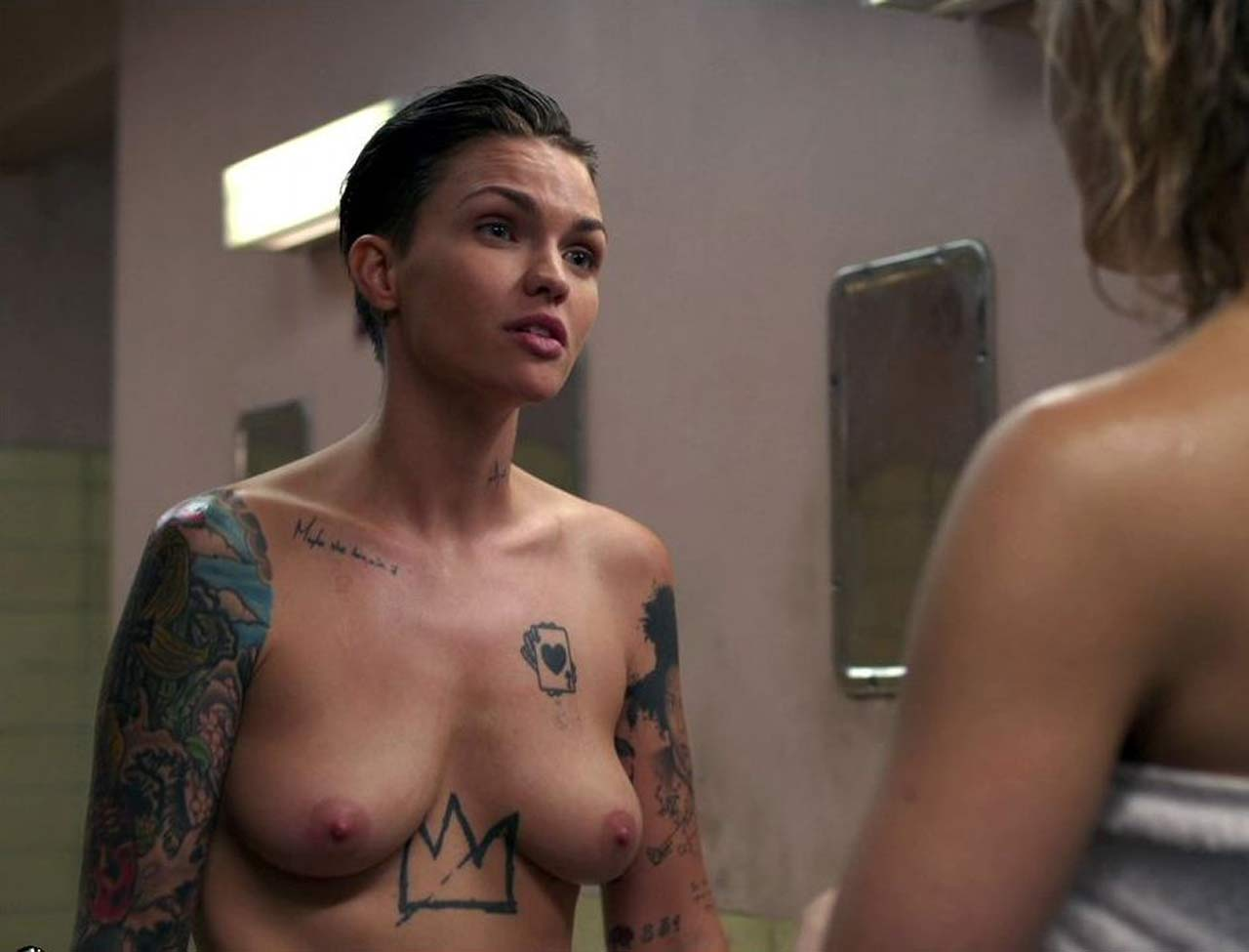 Amber Rose Naked Boobs ruby rose nude pics and scenes compilation - scandal planet