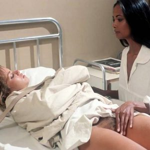 Laura Gemser Porn Scene: Touching Cindy Leadbetter's Bush in 'Emanuelle and the Last Cannibals'