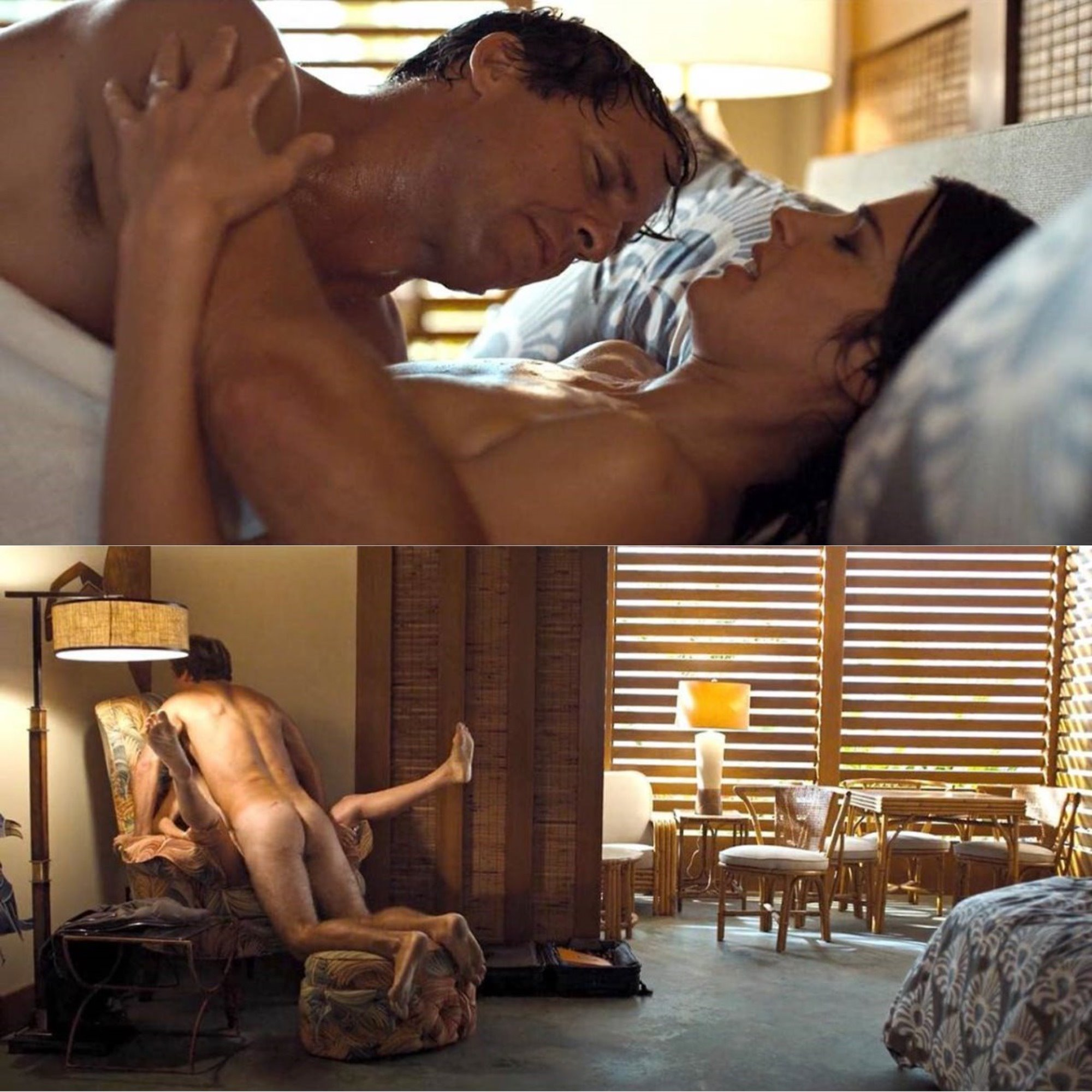 Cobie Smulders Nude Sex Scene from 'Friends from College ...