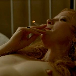 Gretchen Mol Intensive Sex In Boardwalk Empire Series